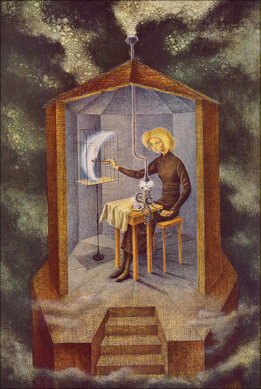 Star Maker by Remedios Varo  Giclee Canvas Print Repro
