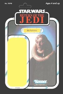 VINTAGE STAR WARS MINI DISPLAY CARDS FOR FIGURES-JEDI FIGURES