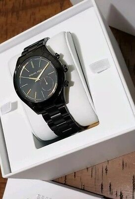 825764ca7 Michael Kors Access Slim Runway Stainless Hybrid Smartwatch 42mm MKT4003  NIB!