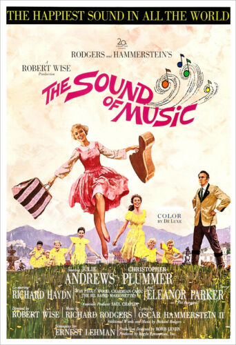 The Sound of Music poster print