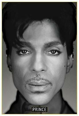 Prince - *POSTER*  - Must See Image - AMAZING B&W PICTURE - Rare GICLEE Print