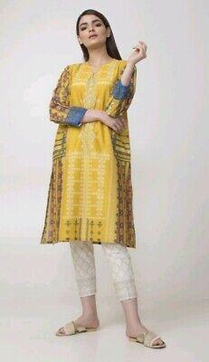 Khaadi 100% Original kurta and trousers size 10 BNWT Perfect for Eid RRP £40 !!