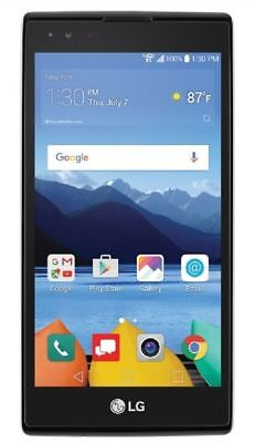 LG K8 V 16GB 4G LTE with 16GB Memory Prepaid Verizon Wireless Smartphone, Black