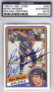 Mark Messier Autographed Card