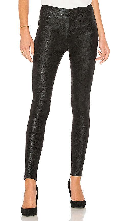J Brand Para Mujer Maria 23110E420 Jeans Estrechos CRISTALINE Negro Talla 25W