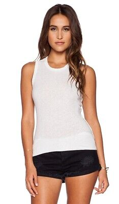 JAMES PERSE Cotton Linen Ice Cream Tomboy Tank In Size 0 XS WYH3581