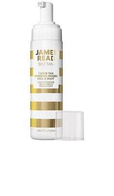 James Read Self Tan 1 Hour Bronzing Mousse Face & Body 1x200ml Medium/Dark NEW