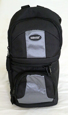 Pro Series Camera Bag - Bower DIGITAL PRO SERIES Full Size Sling SLR Backpack CAMERA CASE SCB1450 Nylon