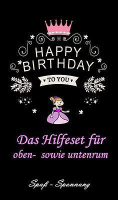 Die gemeine Geschenkidee für die Frau zum 18, 30, 40, 50, 60, 70 etc. Geburtstag ()