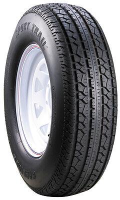 Carlisle Sport Trail Trailer Tire and Wheel ST205/75D15 (6 Ply) (5 Lug)