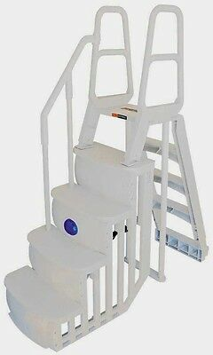 Main Access 200100T Above Ground Swimming Pool Smart Step and Ladder System