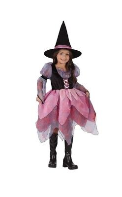 Wonderful Witch Toddler Halloween Costume Large Size 3T - 4T](4t Witch Costume)