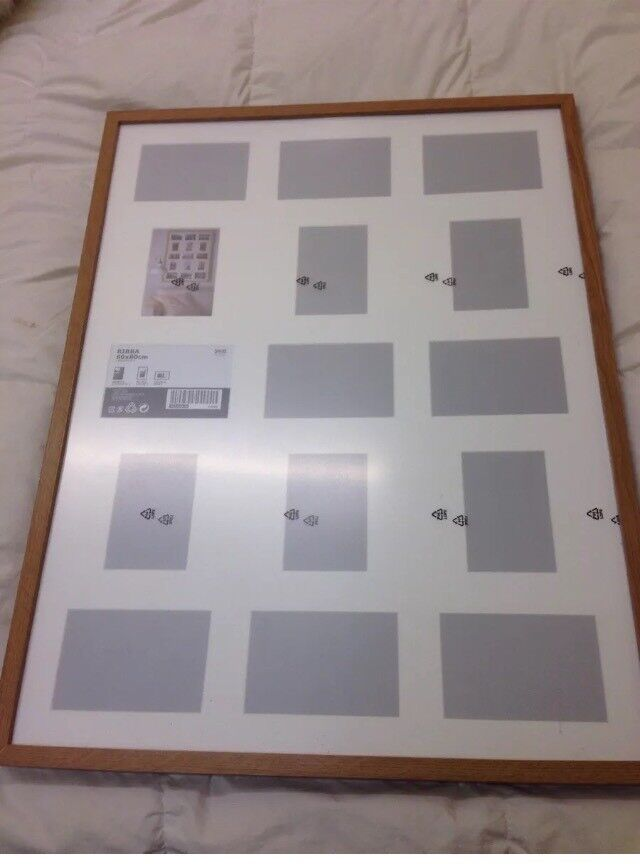 3 ribba picture frames have some damage please see description