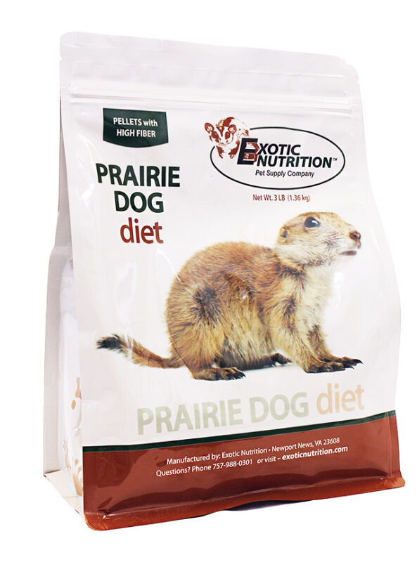 Prairie Dog Diet (3 lb.) - Nutritionally Complete High-Protein High-Fiber Food