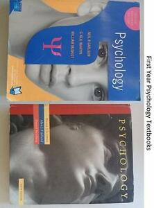 Psychology and Mathematics Textbooks For Sale Jesmond Newcastle Area Preview