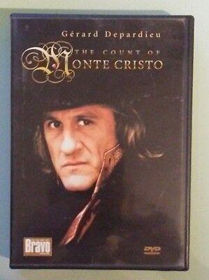 bravo / gerard depardieu   THE COUNT OF MONTE CRISTO    DVD genuine region