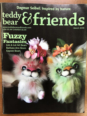 Teddy Bear And Friends Magazine March 2018 issue, New!