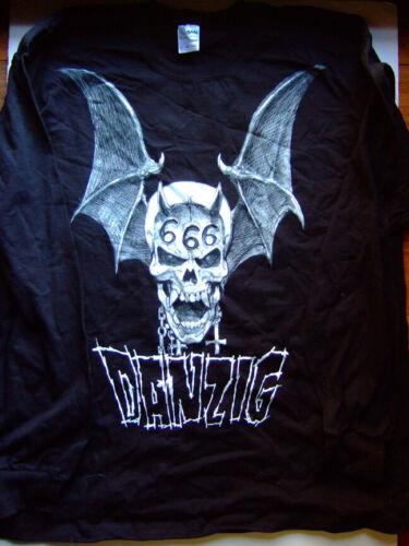 ORIGINAL DANZIG BISLEY 666 SKULL XL Long Sleeve TEE 20 YEARS MF TOUR