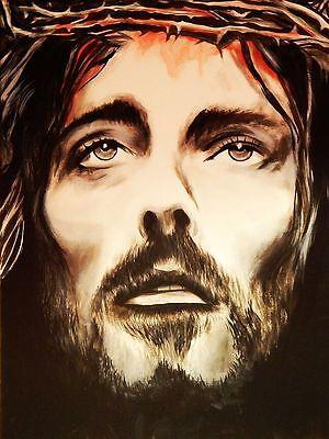 Jesus - Krone von Dornen - Kunstdruck Poster - Krone Von Dornen