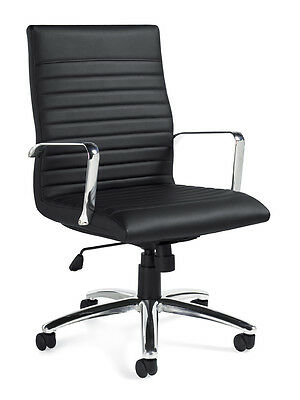 Lot Of 6 Executive Conference Room Table Chairs