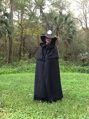 Capes big hood or collar and shoulder cape Costumes Witch Halloween Cosplay Con (Halloween Costumes And Cosplay)