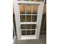 Timber Heritage Style Double Glazed Sash window 800w x 1300h