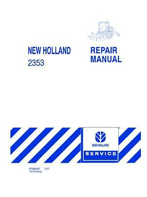 New Holland 2353 Discbine Disc Header Service Manual