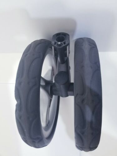 Baby Jogger City Mini Front Wheel Assembley Replacement. Used