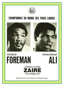 Muhammad-Ali-vs-George-Foreman-POSTER-BOXING-1974-Heavyweight-Champ-Fight