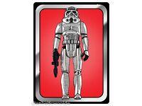 1977 Star Wars Quote Storm Trooper Regrets Poster 11x17 Droids R2D2 Jedi FREESHP