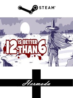 12 is Better Than 6 Steam Key - for PC, Mac or Linux (Same Day