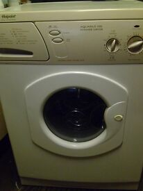 6kg hotpoint aquarius washer dryer in fab working order