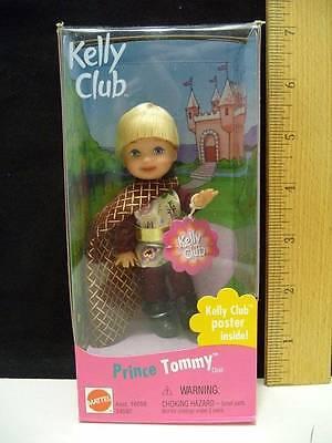 Mattel Kelly Club Doll Prince Tommy NIB Kelly Club Poster Inside