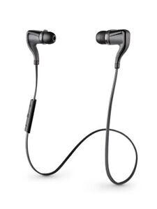 Plantronics BackBeat Go 2 Wireless Hi-Fi Earbud Headphones- Black