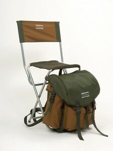 SHAKESPEARE BACKPACK STOOL  chair rucksack fishing walking BAG with back rest