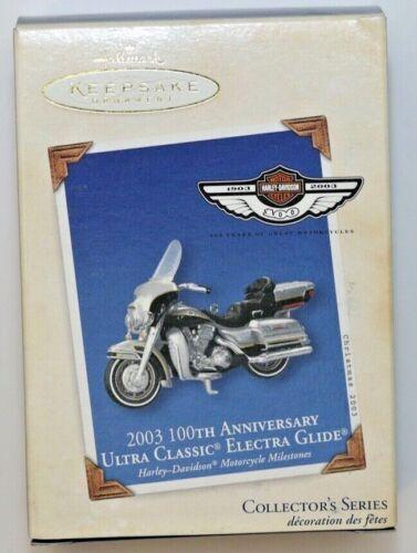 HALLMARK Keepsake Ornament 2003 HARLEY-DAVIDSON Ultra Classic-Electra Glide *NIB
