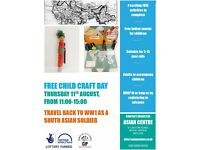 FREE Child Craft event: Travel back to WW1 as a South Asian Soldier!