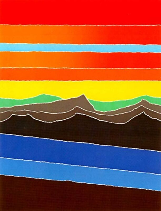"""""""BLUE STREAM"""" Mint Condition s/n Serigraph By Arthur Secunda"""