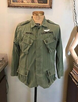 1st Pattern 1960s Jungle Jacket named Air Force Vietnam shirt pants first 60s
