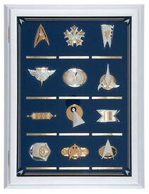 Franklin mint STAR TREK Insignia collection