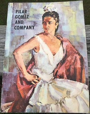 PILAR GOMEZ DANCE COMPANY PROGRAM