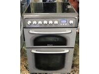 Hotpoint ceramic electric cooker 60 cm very good condition