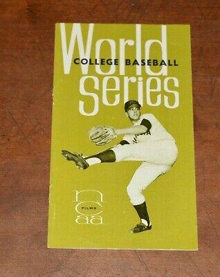1964 COLLEGE BASEBALL NCAA WORLD SERIES OREGON DUCKS UNIVERSITY TEXAS MINNESOTA Minnesota Golden Gophers College Baseball