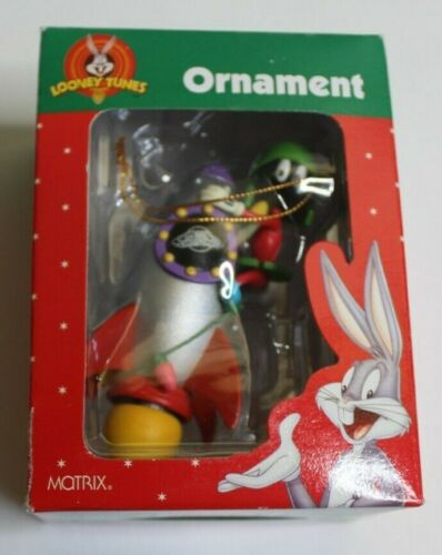 Looney Tunes Marvin The Martian Christmas Ornament 1998 Matrix