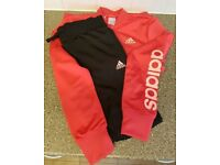 Girls retro adidas tracksuit