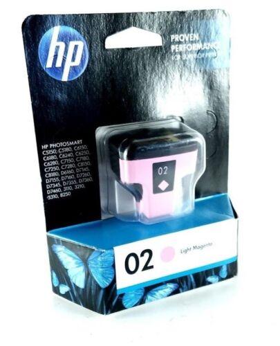 HP 02 Light Magenta Original Ink Cartridge Light Magenta C8775WN#140