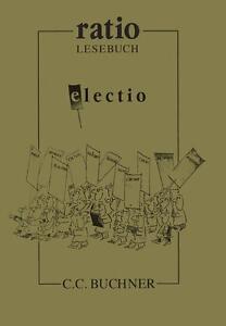 Moskopp, Heiner - ratio: electio: Von Plautus bis Plinius: 30