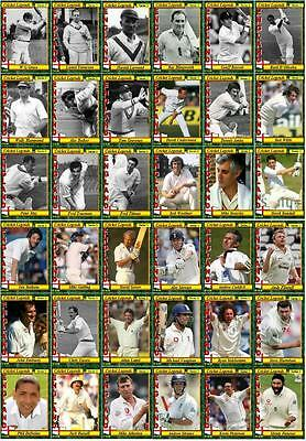 England Cricket Legends Trading Cards Series 1
