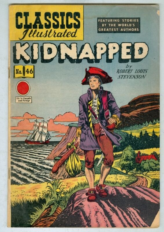 Classics Illustrated #46 Kidnapped #46 G/VG