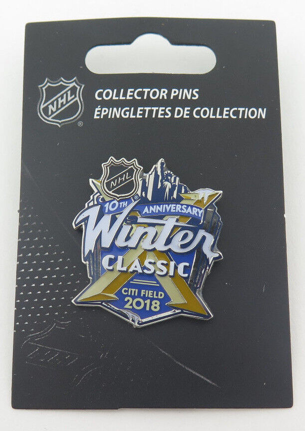 bcddd3f6c 2018 NHL Winter Classic Pin New York Rangers vs Buffalo Sabres ...